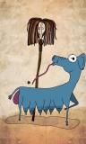 #12 Long Shop Mopela with Goatdog Blue
