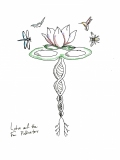 Lotus and the Four Pollinators