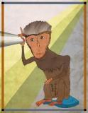 Rhesus Macaque Listens